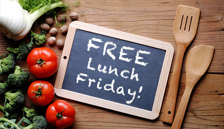 Win Free Lunch For Your Whole Office!