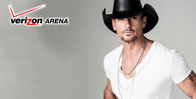Tim McGraw Is Coming To Little Rock!